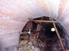 権現峠通過のためのトンネル