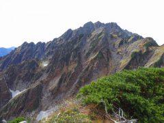 剱岳本峰は...(換算25mm)
