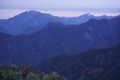 仙丈ケ岳と甲斐駒ヶ岳
