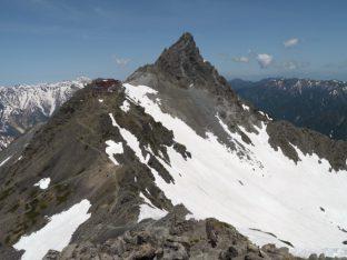 大喰岳にて、焦点距離28㎜撮影