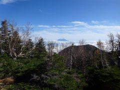 振り返ってみる富士山